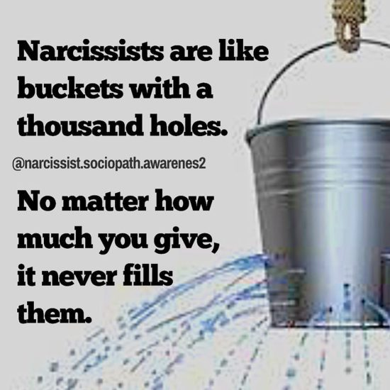 Nothing Can Ever Satisfy A Narcissist