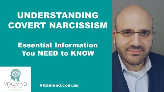 Understanding Covert Narcissism