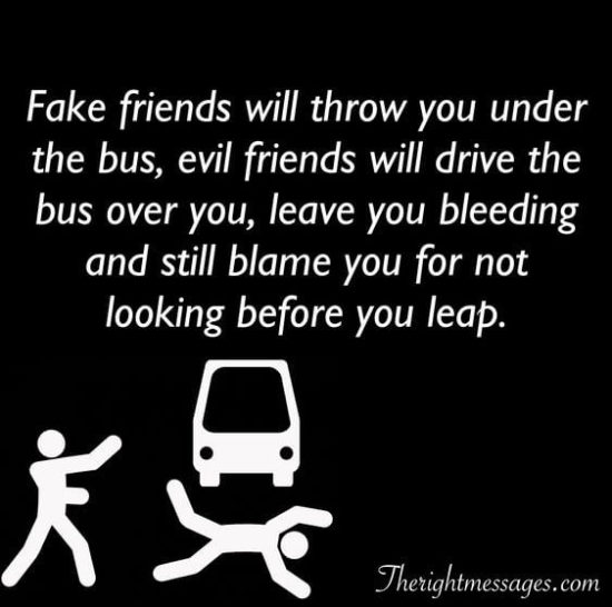 Identify Fake Friends in your Life
