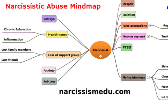 Narcissistic Abuse Mind Map